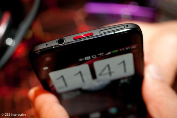 Verizon's flagship Droid DNA. (Credit: Sarah Tew/CNET)