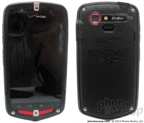 The Casio C881 Gz'One Commando could soon join Verizon's Android roster. (Credit: PhoneScoop)