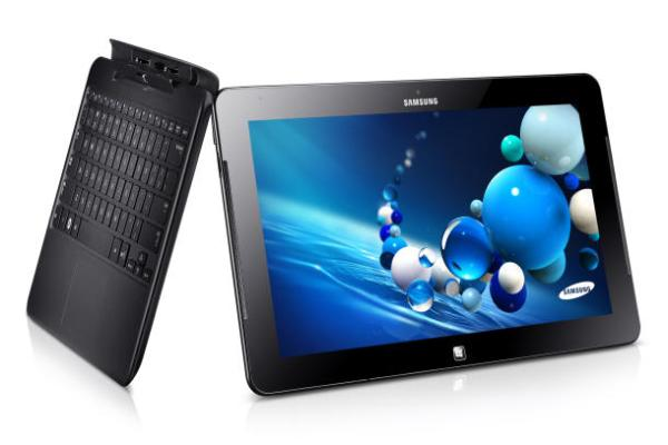 Intel-powered touchscreen devices, similar to the Samsung Ativ PC, could sell for as little as $200. (Credit: Samsung)
